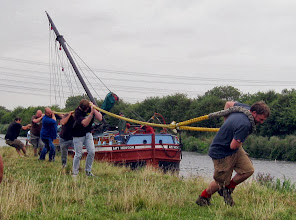 Photo: BSHG Barge Pull Team