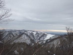 南西側の展望(ベルク余呉スキー場跡)