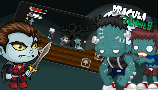 Dracula vs Zombies for PC-Windows 7,8,10 and Mac apk screenshot 1