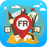 France Offline Map Trips Tours Icon