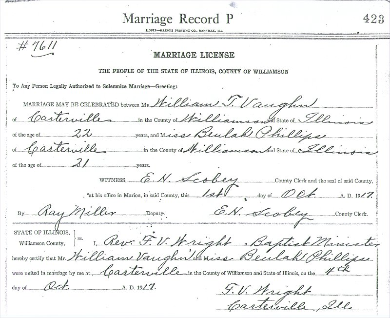William Thomas Vaughn Marriage Certificate.jpg