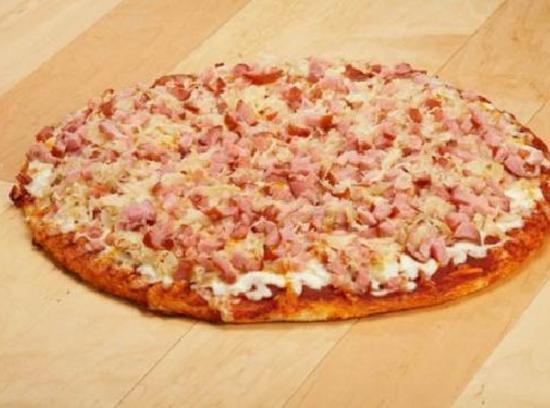 Canadian Bacon Sauerkraut Pizza Recipe