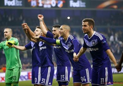 Après deux mois d'absence, il retrouve la sélection d'Anderlecht