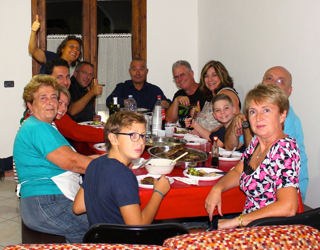 Dining with the Papa Vince family