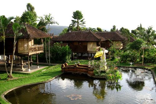 puri lumbung cottages in North Bali