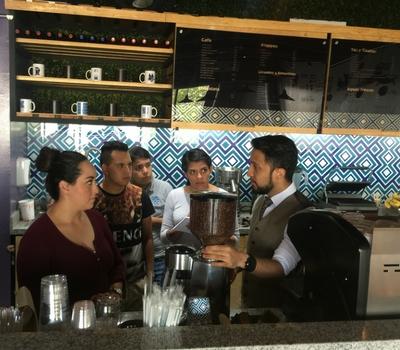 capacitación de barismo y arte latte - cafetería mi dahlia