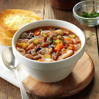 Provencal Ham & Bean Soup.
