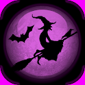 Halloween : Flying Witch icon