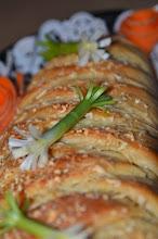 Photo: Artichoke Spinach Dip Stuffed Bread