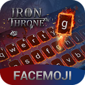 Ice & Fire Iron Throne Emoji Keyboard Theme icon