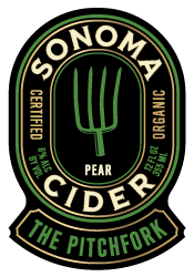 Logo of Sonoma Cider The Pitchfork - Pear Cider