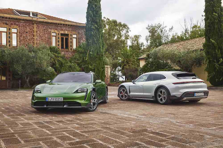 Sales of the electric Porsche Taycan are going really well and we expect it's CrossTurismo will zoom off showroom floors too.