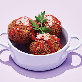 The Best Vegetarian Meatballs Ever.