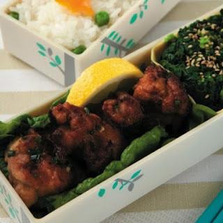 Chicken Kara-age, AKA Japanese Fried Chicken.