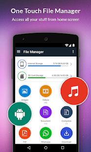 File Manager Explore - Backup & Share - náhled