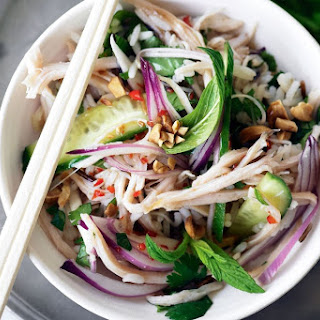 Smoked Chicken And Wild Rice Salad