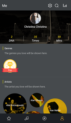 GO Music PLUS - Free Music, Themes, MP3 Player - screenshot