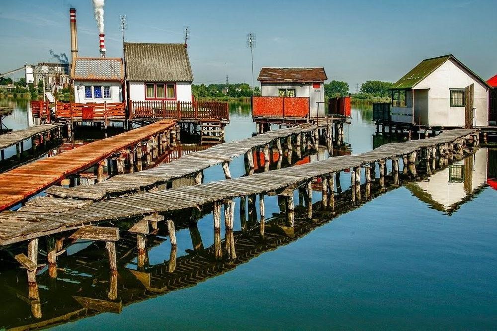 Lago Bokodi, o paraíso dos pescadores na Hungria