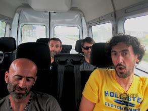 Photo: si parte con il Marinella Bus