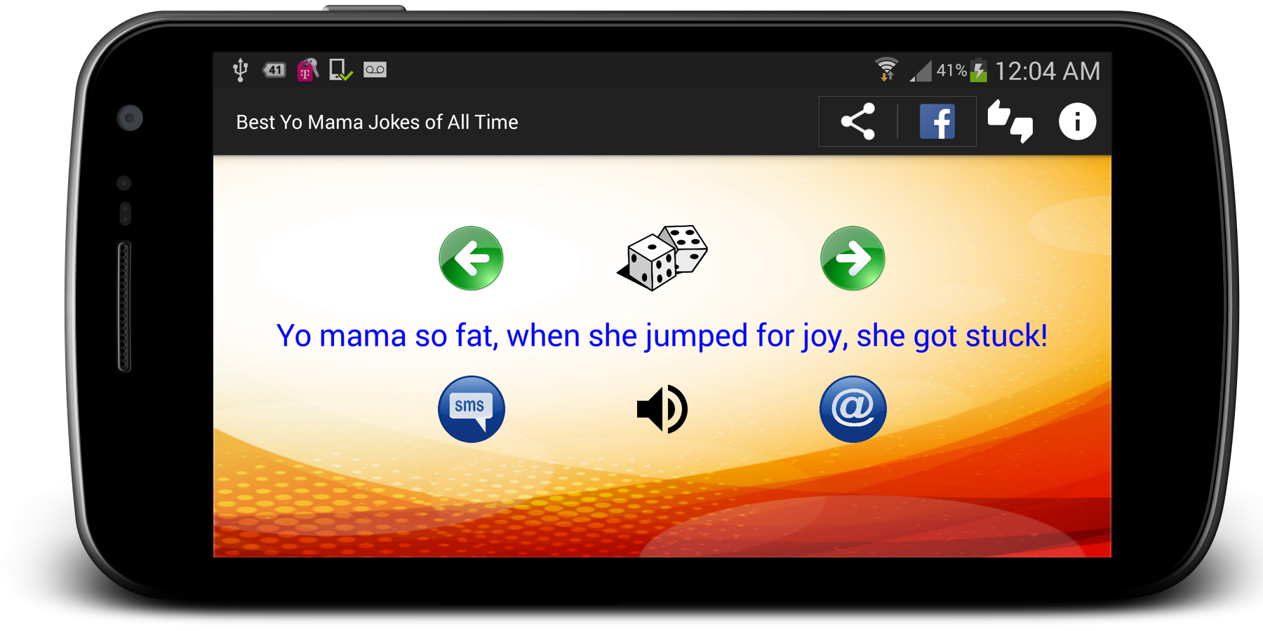 Screenshots of Best Yo Mama Jokes of All Time for iPhone