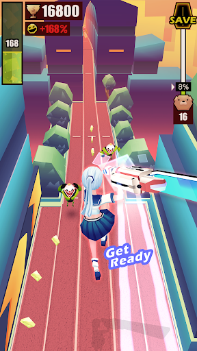 Slash & Girl - Endless Run apktram screenshots 4