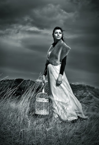 Gone With the Wind by Soran Sorin - People Fine Art ( white, retro, black )