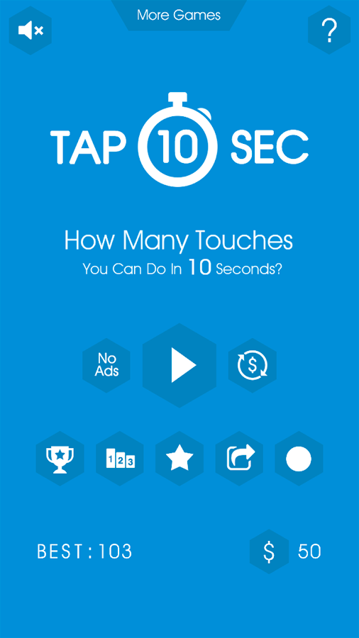 Tap 10 Sec- screenshot