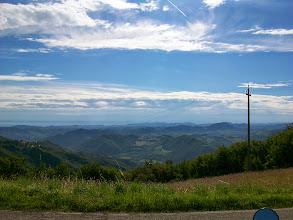 Photo: Blick in den Apennin