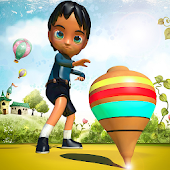Top Spin Kids Spinner Game icon