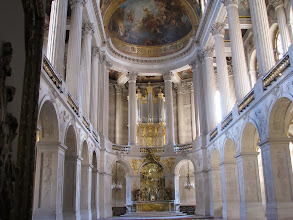 Photo: The chapel inVersailles