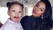 DJ Zinhle claps back at troll with some 'parenting advice'.