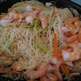Shrimp Mei Fun Noodles.