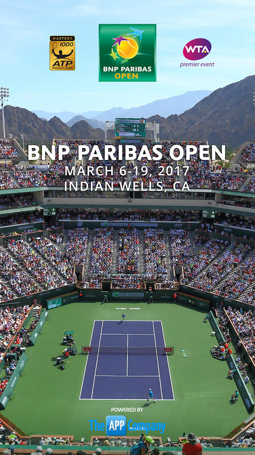 2017 BNP Paribas Open- screenshot