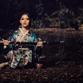 Bushido by Anz Defensor - People Fashion ( people, portrait )