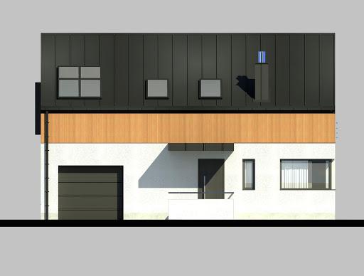 LIM House 02 - Elewacja przednia
