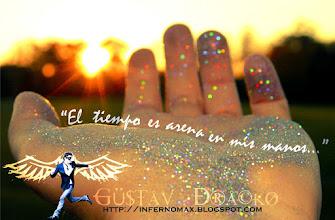 Photo: El tiempo es arena en mis manos...