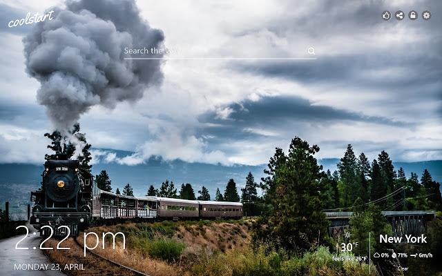 Trains HD Wallpapers Railways New Tab Theme