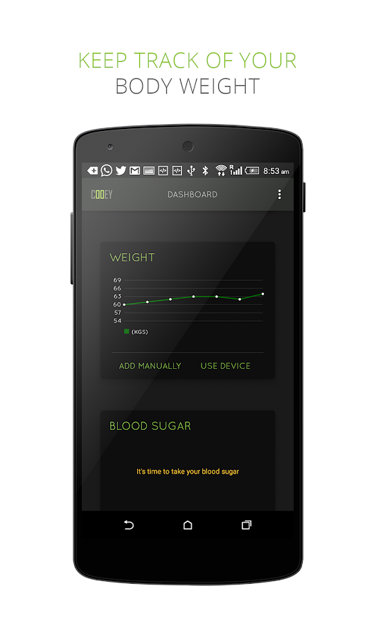 Diabetes, Blood Pressure & Wt- screenshot