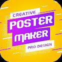 Flyer Maker Poster Maker 2020 free Banner Maker icon