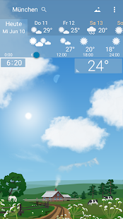 🌈 Genaue Wetterberichte YoWindow Screenshot