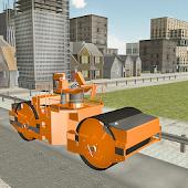 Road Builder Construction Site