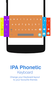 IPA Phonetic Keyboard - náhled