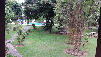 Photo: Beautiful garden at Baan Thai Resort, Chiang Mai - Thailand
