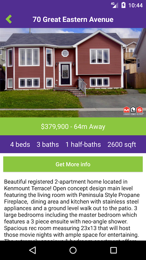 Hanlon Realty- screenshot