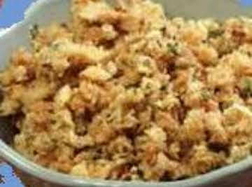 Awesome Homemade Dressing (Stuffing)