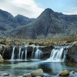 Fairy Pools  by Debbie Bowers - Landscapes Waterscapes ( magical, calm, mountains, waterfalls, clear, fresh )