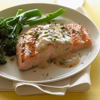 Grilled Salmon with Lemon and Dill Recipe