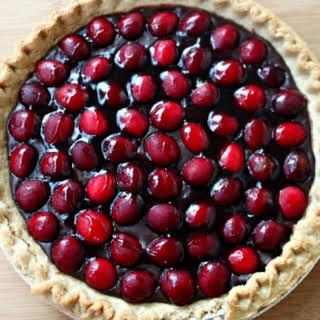 National Cherry Tart Day | Cherry Chocolate Tart.