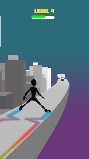 Ninja Sky Roller apkmind screenshots 2