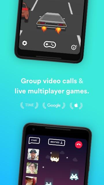 Tribe - Group games & video calls- screenshot